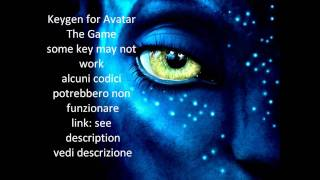 Keygen for James Cameron's Avatar key-- UPDATED NOW IT WORKS!!!!!!