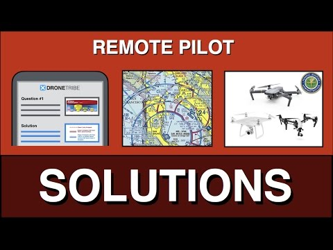 Remote Pilot Knowledge Test: Solutions to Practice Questions