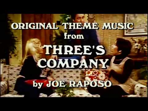 "CLASSIC TV THEME - Original Theme to ""Three's Company"" Pilot with no lyrics (1976)"