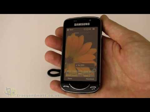 Samsung Omnia Pro B7610 unboxing video