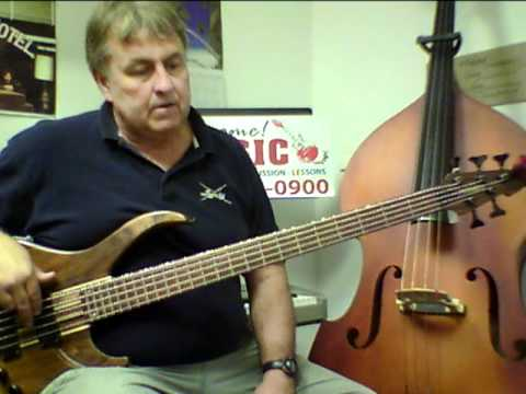 how to tune a 5 string bass guitar youtube. Black Bedroom Furniture Sets. Home Design Ideas