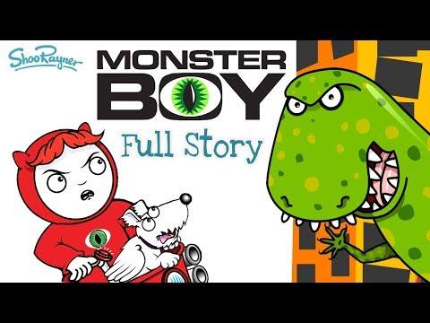 monster-boy---dino-destroyer---full-read-aloud-story-for-kids---shoo-rayner