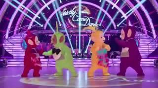 teletubbies dancing dessert