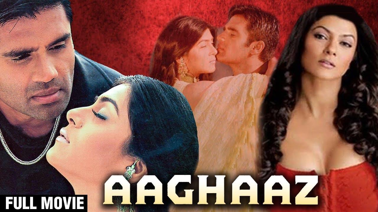 Aaghaaz Hindi Full Movie | Sunil Shetty, Sushmita Sen, Johny Lever | Hindi Action Movies
