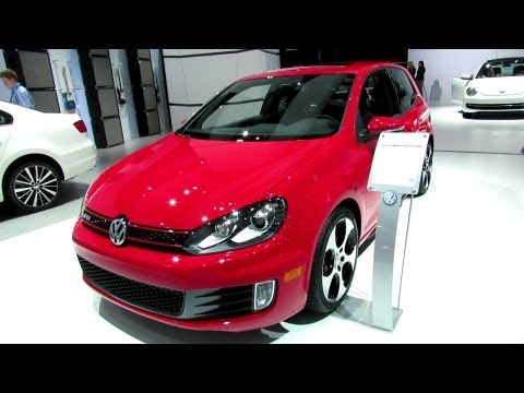 2012 Volkswagen Golf GTI Exterior and Interior at 2012 New York International Auto Show