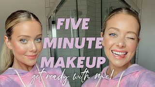 OFFICIAL 5-ish Minute Makeup!