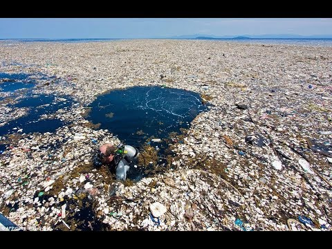 Shocking video shows just how much rubbish ends up in the sea