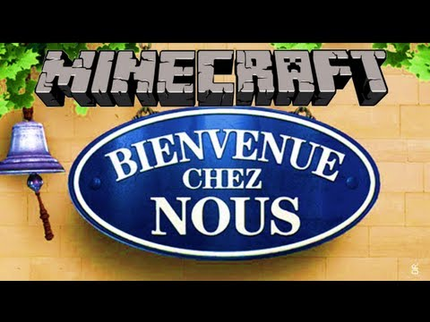 minecraft bienvenue chez nous episode 1 youtube. Black Bedroom Furniture Sets. Home Design Ideas