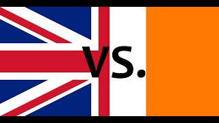 Ireland vs. united kingdom 2015 - country comparison - clash of nations