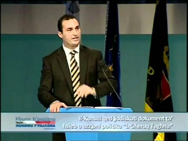 Kunsill ?enerali PN - Novembru 2011 - It-Tieni Sessjoni: Franco Debono