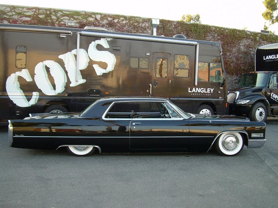 1966 Cadillac DeVille - BAGGED, original paint, interior, and chrome