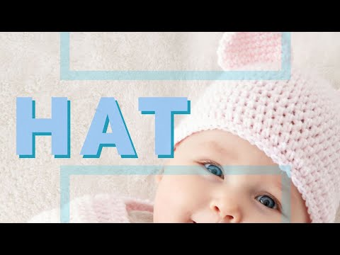 7f90f52c175 Crochet Baby Teddy Bears Hat - YouTube