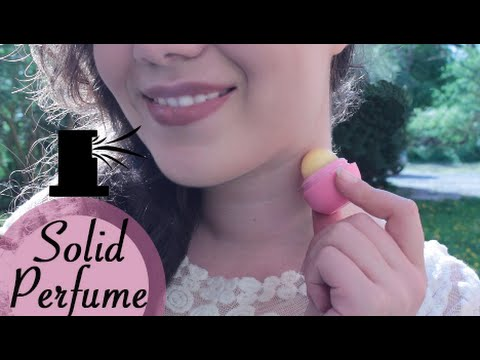 Solid Perfume - EOS DIY