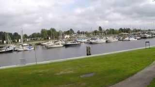 Erkemederstrand Nijkerk Dji Phantom 2 Gopro Marina De zuidwal Nederland Drone (The Netherlands)
