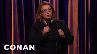 Jackie Kashian: Marriage Is About Being A Burden To Each Other  - CONAN on TBS