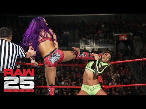 Banks, Bayley, Asuka & James vs. Jax, Rose, Deville & Fox: Raw 25, Jan. 22, 2018