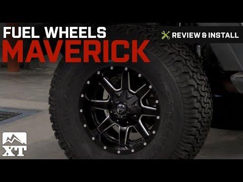 Jeep Wrangler Fuel Wheels Maverick (2007-2016 JK) Review & Install