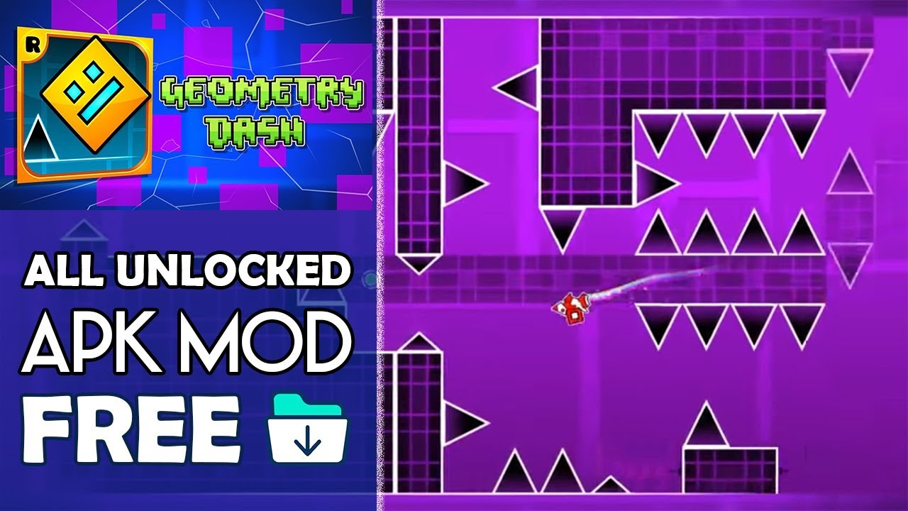 Download Geometry Dash Apk Mod All Unlocked v2 111 Android 2018