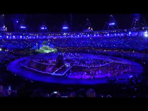 London 2012 Opening Ceremony  Caldron lighting