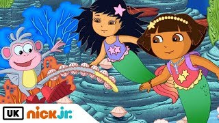 Dora the Explorer | Sea Monkey Wiggle | Nick Jr. UK