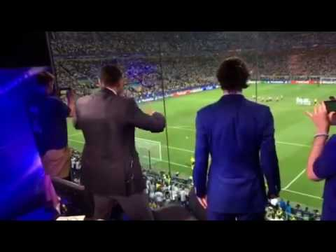 Rio Ferdinand reaction to Ronaldo penalty vs atletico madrid