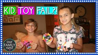 MAJOR DISAPPOINTMENT! KID TOY FAIL!