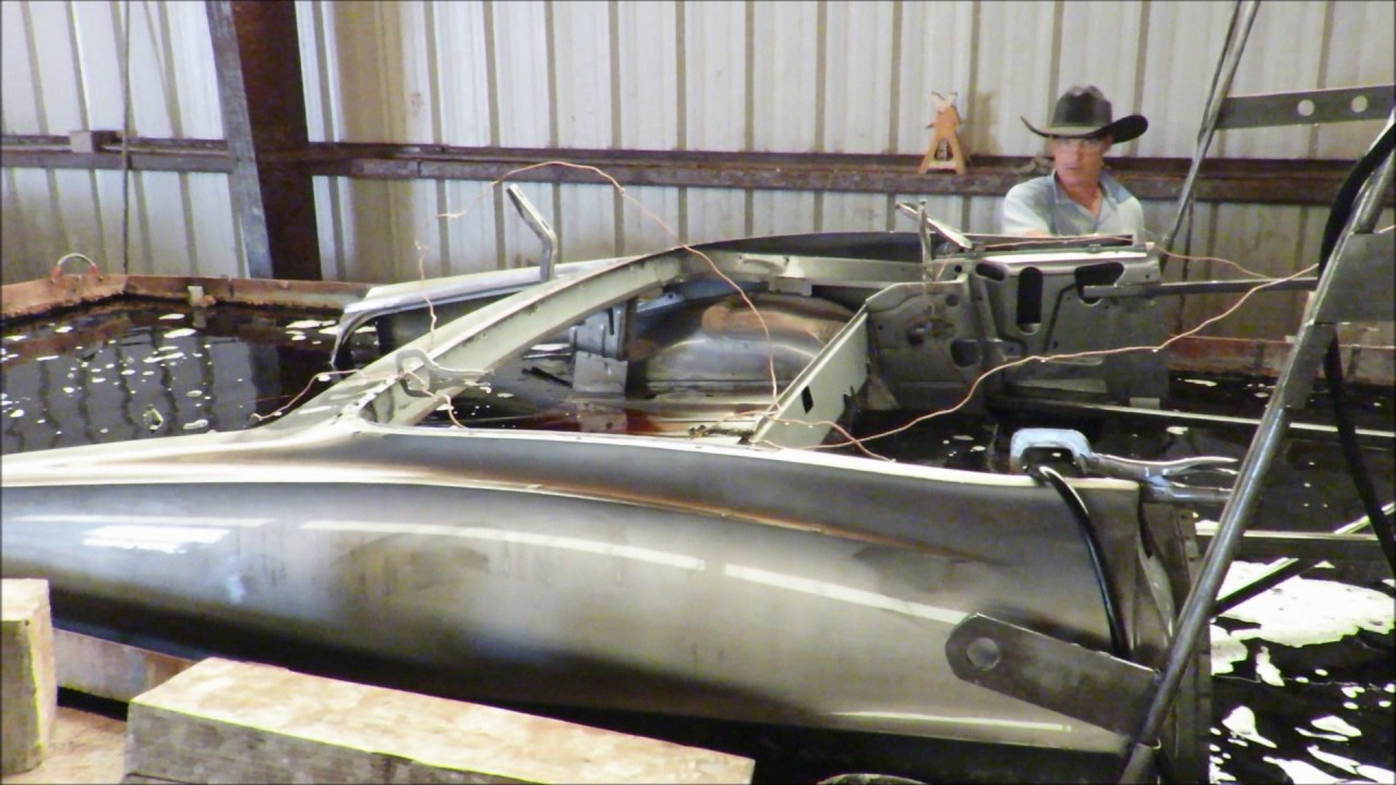 Rust Removal: Ford Galaxie Body