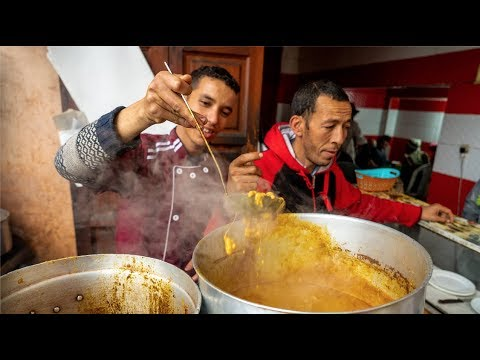 Trying Food from Around Morocco