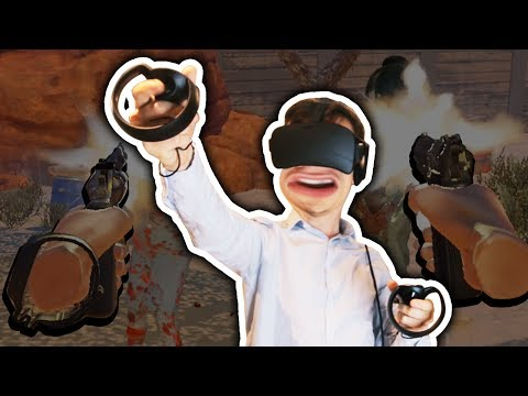 ZOMBIES IN VIRTUAL REALITY!!! THIS IS AMAZING