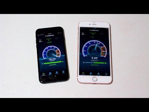 iPhone 7 vs. iPhone 6S Plus - SPEED TEST