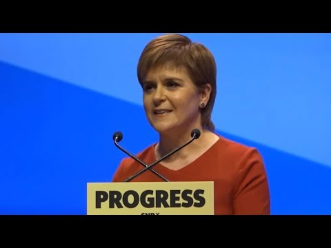 Nicola Sturgeon addresses keynote speech to SNP conference 2017