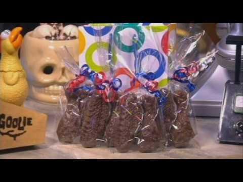 "WBBZ-TV Buffalo's ""Chocolate Buffalo Chicken Wings"" Gift For Svengoolie's 40th Anniversary!"