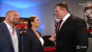 WWE RAW Kane Mind Games on The Authority