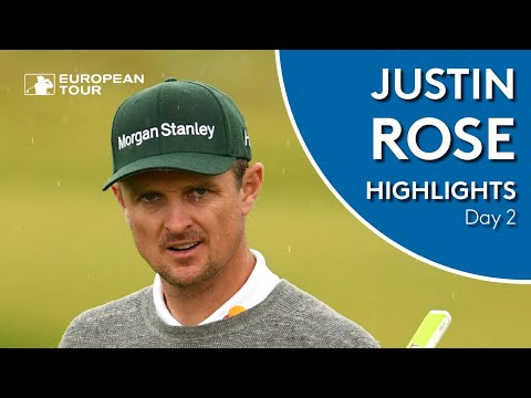 Justin Rose Highlights | Round 2 | 2019 Alfred Dunhill Links Championship