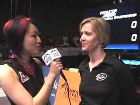 Allison Fisher Defeats David Alcaide at 10-ball