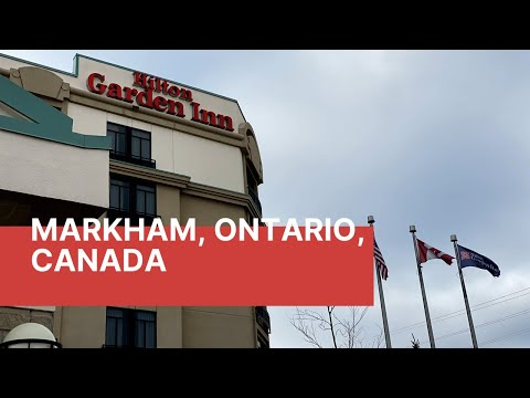 HILTON GARDEN INN - Markham, Ontario, Canada#hotels#canada