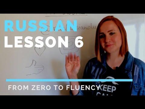 Russian lessons – Lesson 6 – Russian possessive pronouns