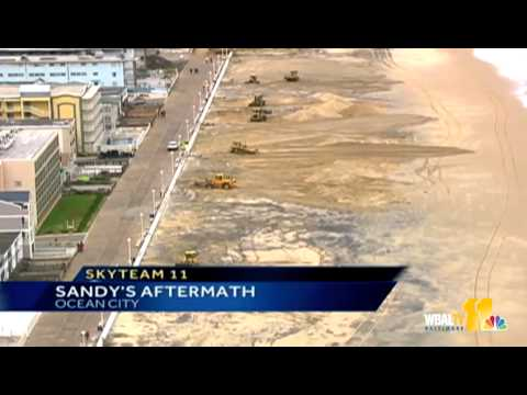 Sandy Destroys Parts Of Ocean City