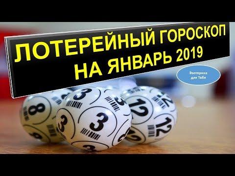 Лотерейный гороскоп на январь 2019