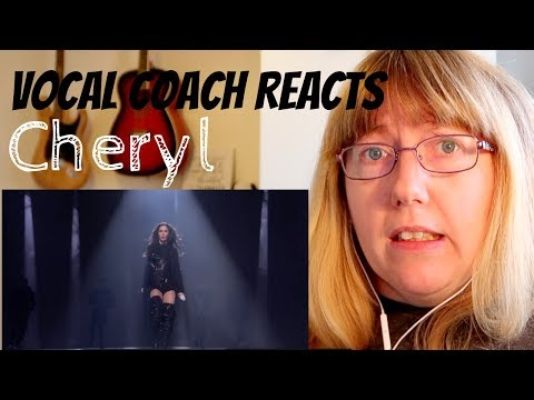 Vocal Coach Reacts to Cheryl 'Love Made Me Do It' The X Factor UK 2018