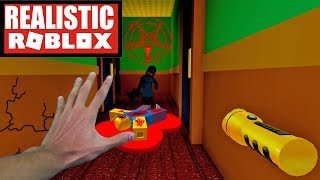 Realistic Roblox - ESCAPE BLOODY MARY IN ROBLOX! ROBLOX HAUNTED HOTEL!