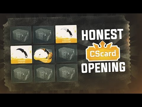 CSCARD NON-SPONSORED CASE OPENING! (HONEST OPENING)