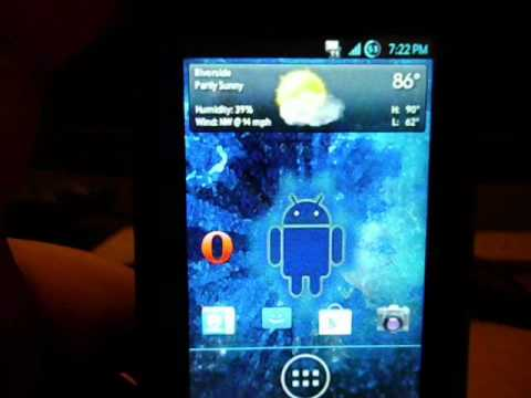 How to take a Screenshot with the Samsung Intercept Android