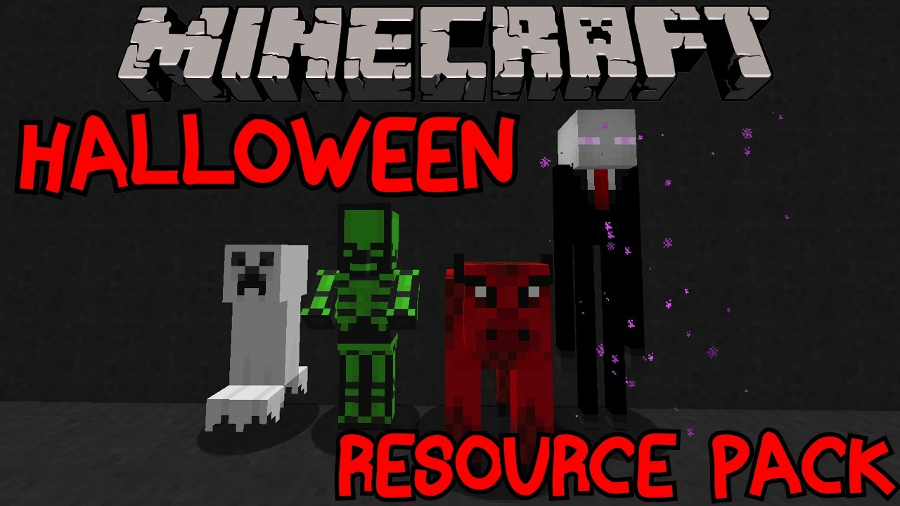 Minecraft Halloween Resource/Texture Pack | Showcase Review 1.8 ...