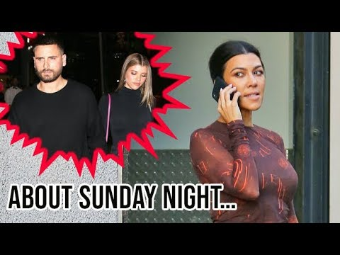 Kourtney Kardashian Is Asked About Her 'Tense' Dinner With Sofia Richie And Scott Disick