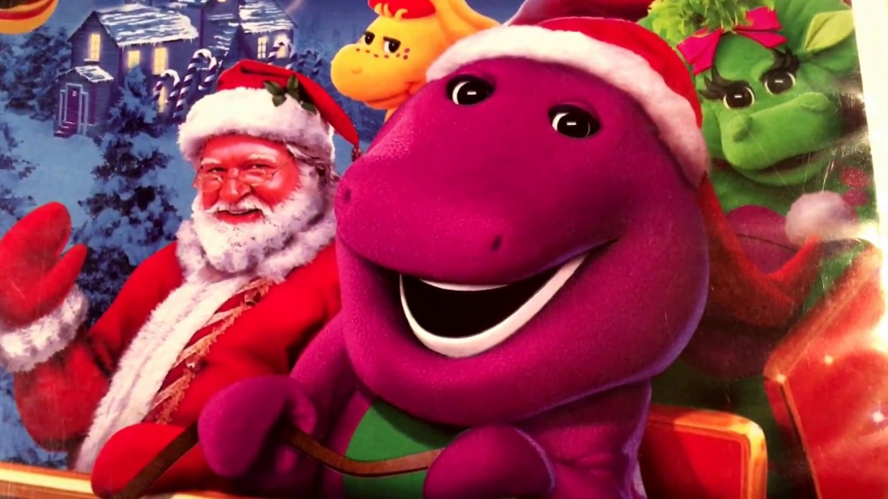 Barney's Night Before Christmas VHS Tape - YouTube