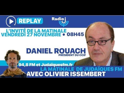 Daniel Rouach, Président De La Chambre De Commerce Israël Et France