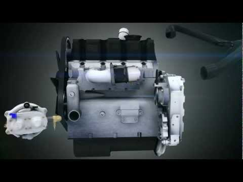 3D Diesel engine transform to gnv,