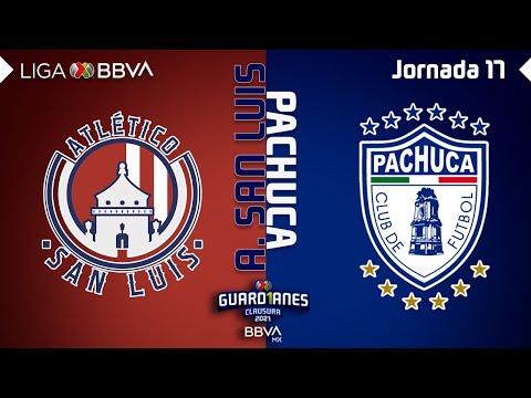 Resumen y Goles   San Luis vs Pachuca   Liga BBVA MX - Guard1anes 2021 - Jornada 17