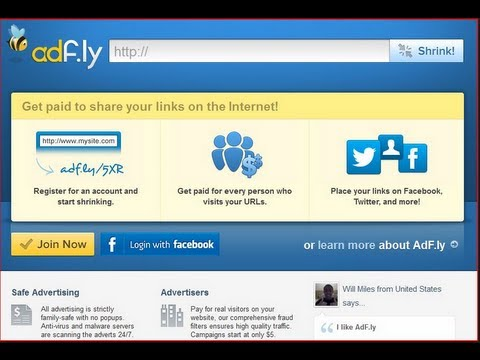 How to Open adf.ly which is Blocked